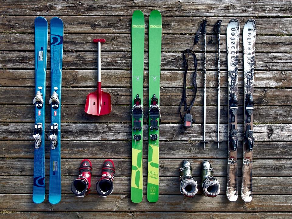equipo-esquí